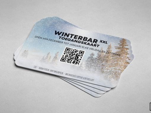 WINTERBAR lidkaarten